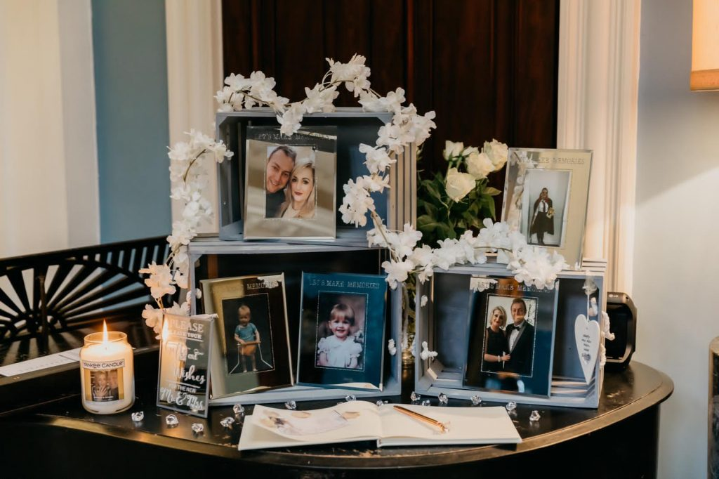 The Guest Book at Danielle & Gerard's wedding